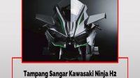 Tampang Sangar Kawasaki Ninja H2