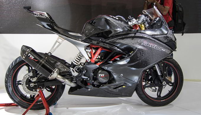 Motor Konsep TVS Akula 310