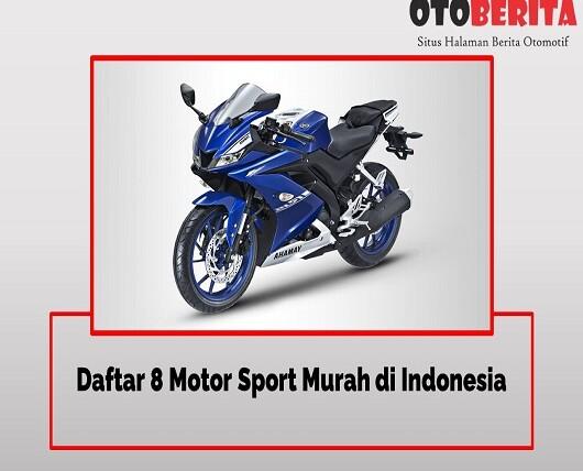 Daftar 8 Motor Sport Murah di Indonesia