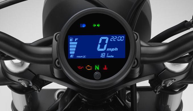 Desain Speedometer Motor Honda Rebel 300 Begitu Futuristik