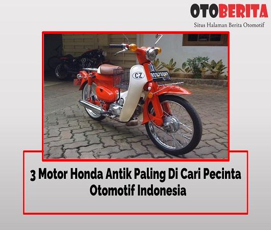 Motor Honda Antik