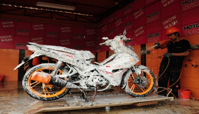 Keuntungan Mencuci Sepeda Motor