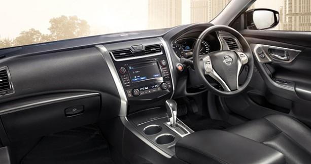 interior Nissan Xtrail Facelift