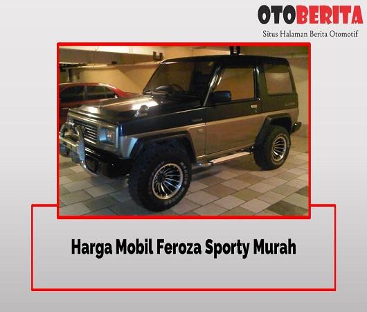 Modifikasi Mobil Feroza Sporty Velg Besar