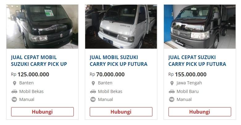 jual beli mobil carry pick up