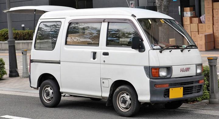 Mobil Jadul Daihatsu Hijet