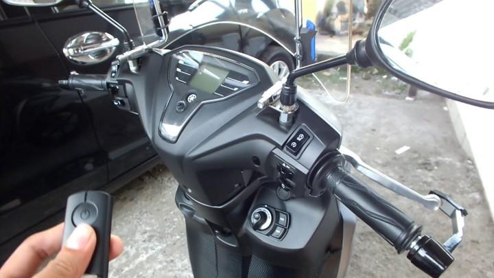 Smart Key System dan Smart Motor Generator pada Yamaha FreeGo