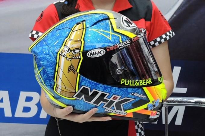 Harga helm MotoGP NHK GP-R Tech