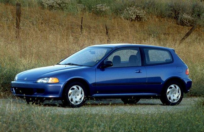 Mobil Honda Civic Langka seri 5