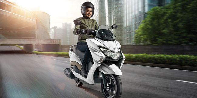 Pesaing Yamaha Lexi, Sang Suzuki Burgman Street 125cc