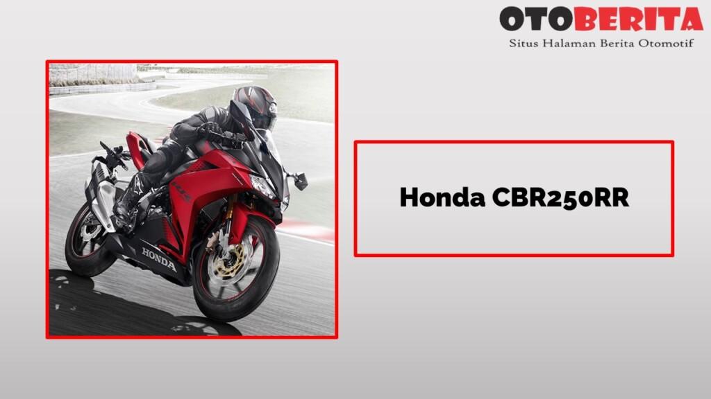 Honda CBR250RR Si Motor Idaman 2 Silinder