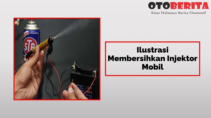 Ilustrasi Membersihkan Injektor Mobil