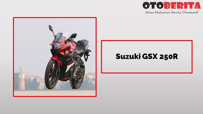 Suzuki GSX 250R Sang Motor 2 Silinder Murah