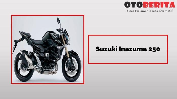 Suzuki Inazuma 250 si motor sport 2 silinder