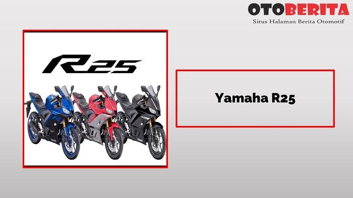 Yamaha R25 Si motor sport 2 silinder