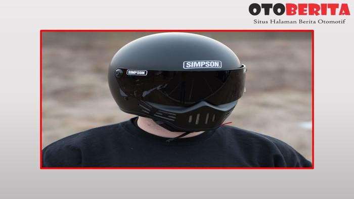 Harga Helm Full Face Speedway Bandit Visor Silver Chrome