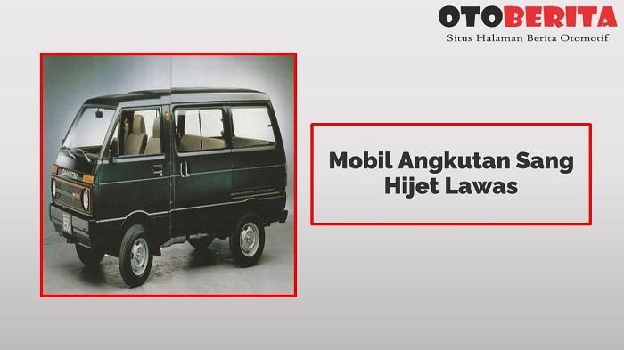 Mobil Angkutan Sang Hijet Lawas