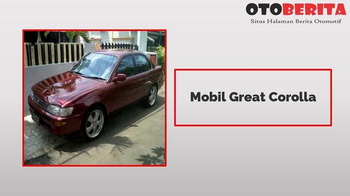 Mobil Great Corolla Si Jadul Legendaris