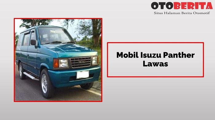 Mobil Isuzu Panther Lawas Jadi Legenda