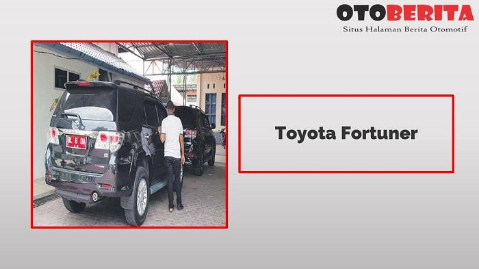Toyota Fortuner Jadi Salah Satu Mobil Dinas Pejabat